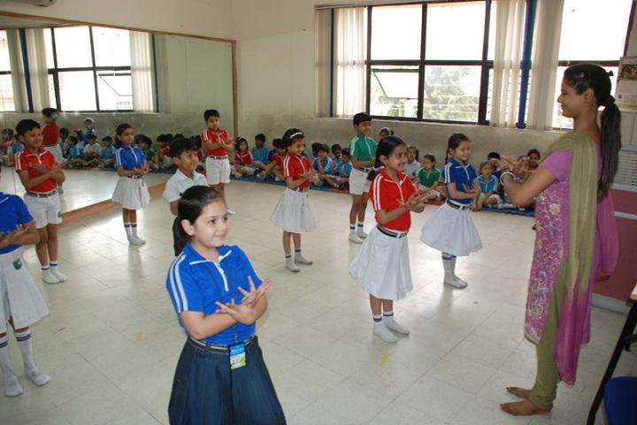The Millennium School-Dance room