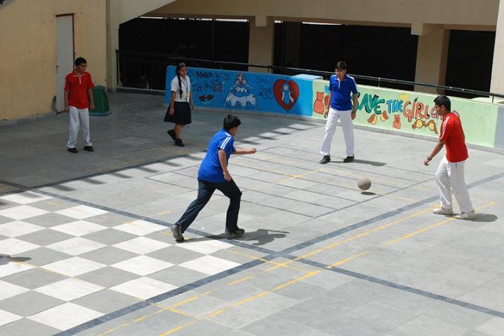 The Millennium School-Play area