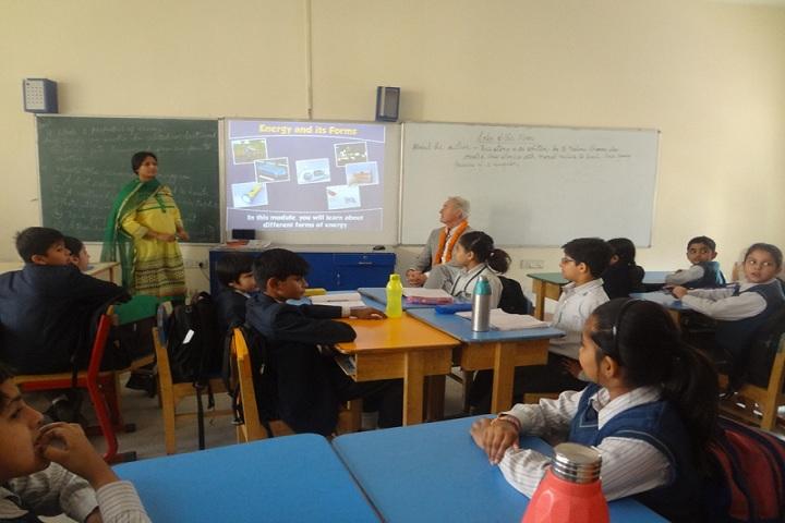 The Millennium School-Smart class
