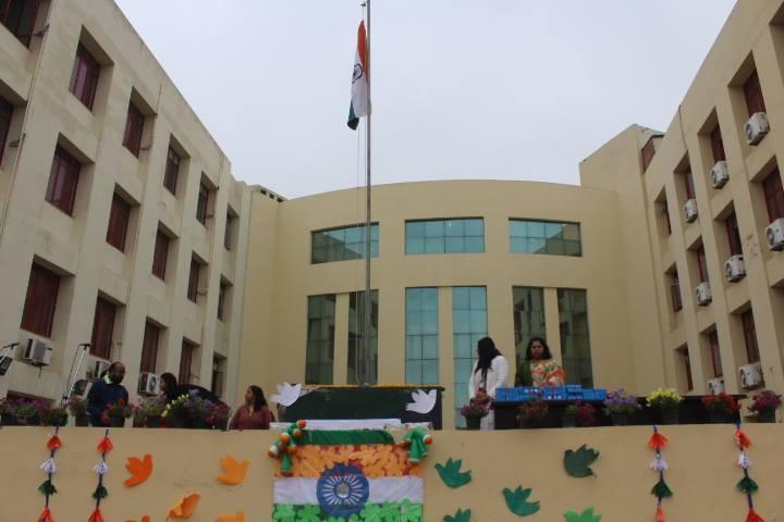 The Millennium School-Republic day celebration
