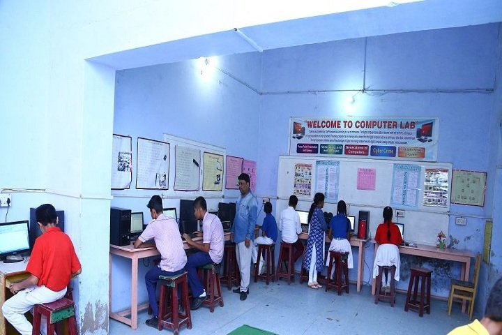 The Model Higher Secondary School-Computer lab