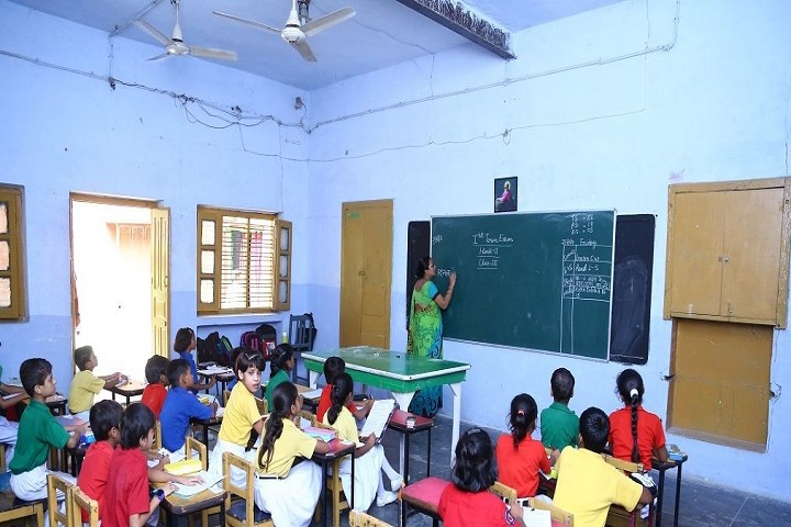 The Model Higher Secondary School-Class room