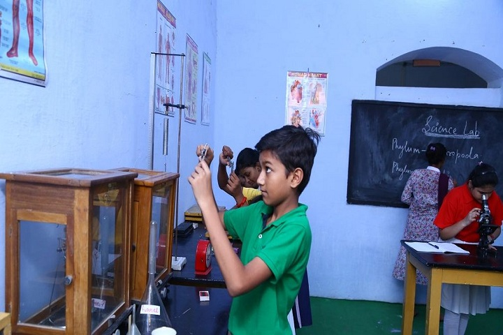 The Model Higher Secondary School-Lab