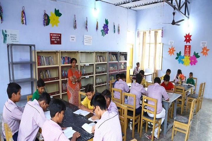 The Model Higher Secondary School-Library