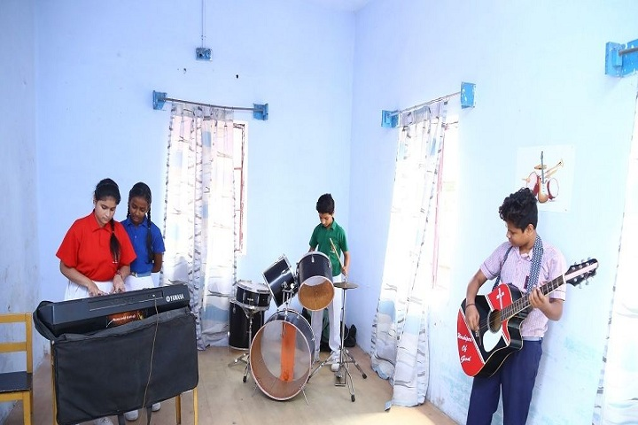 The Model Higher Secondary School-Music room