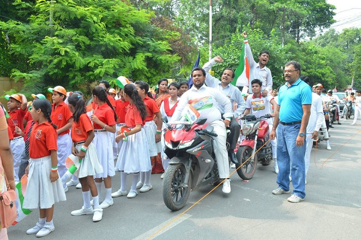 The Model Higher Secondary School-Rally