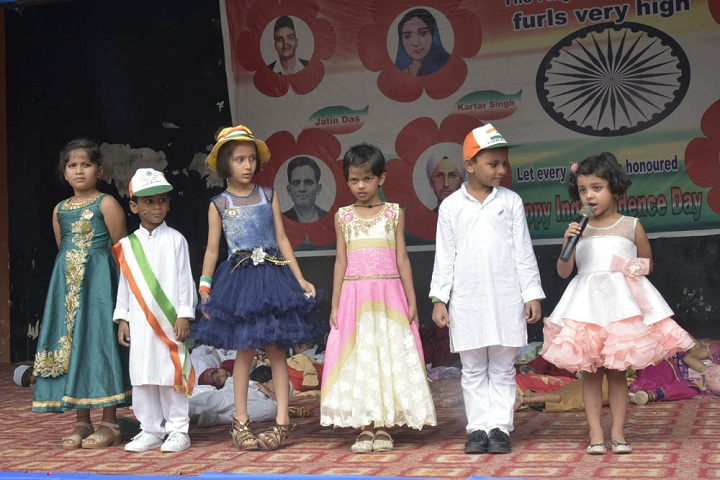 The Pillars Public School-Independence day celebration