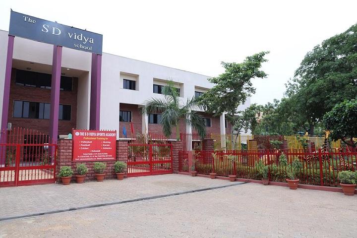 The S D Vidya School-School Building