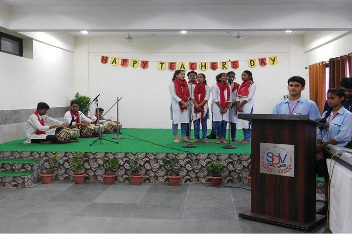 The S D Vidya School-Group Singing