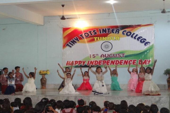Tiny Tots English Medium School-Independence day celebrations