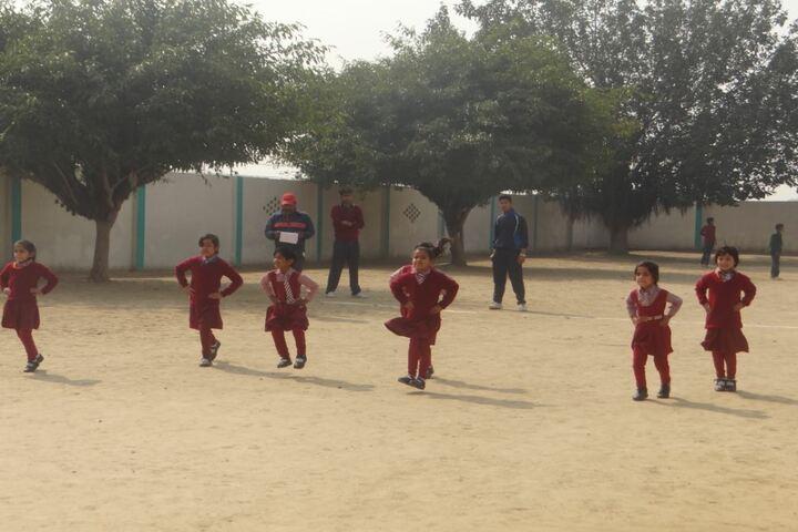Tiny Tots English Medium School-Sports