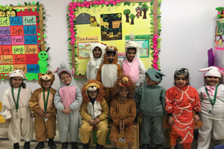 U S International School-Fancy dress competition