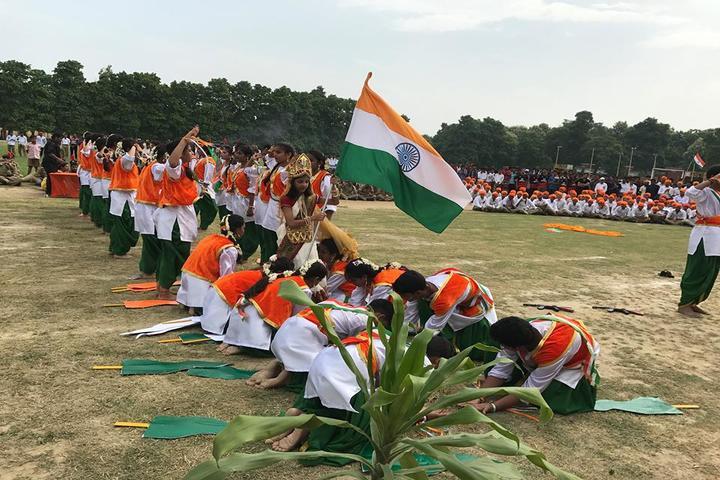 Udai Pratap Public School-Independence Day Celebration