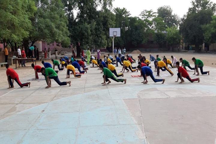 Udai Pratap Public School-Yoga Day