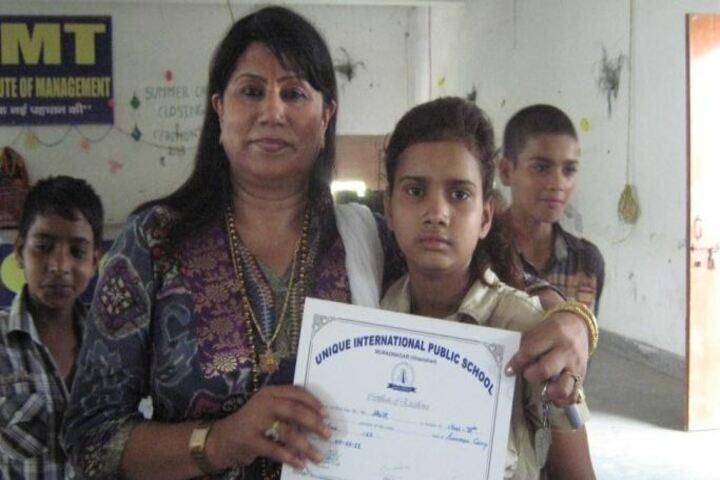 Unique International Public School-Awards