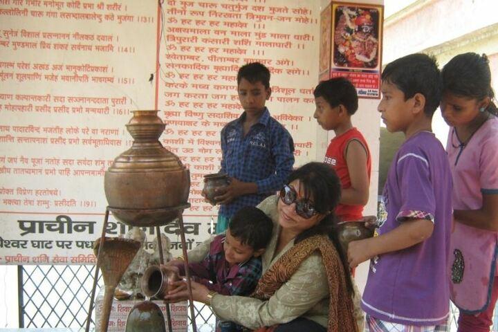 Unique International Public School-Temple visit