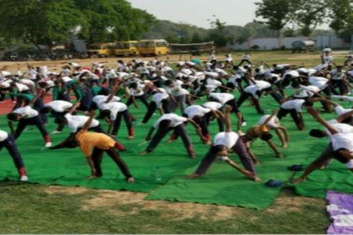 Universal Public School-Yoga Day