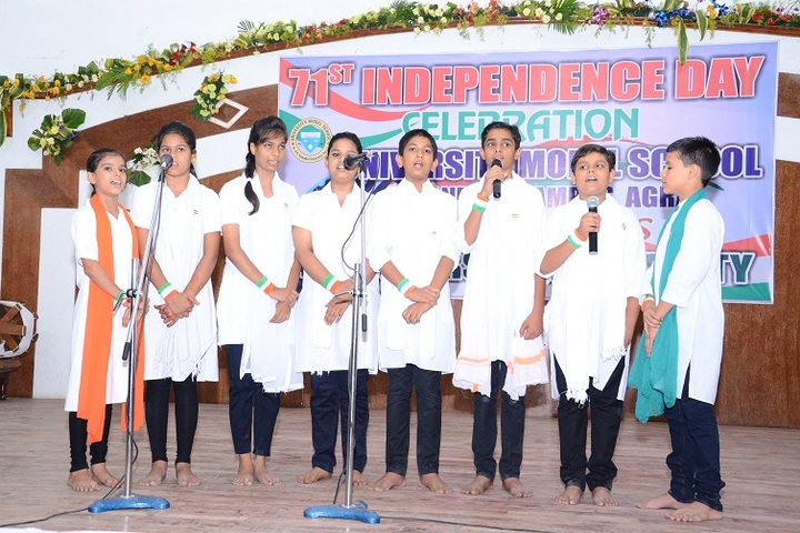 University Model School-Group Singing