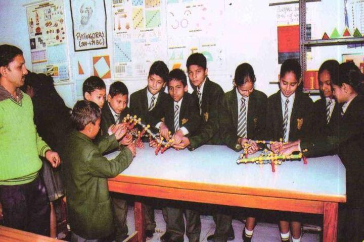 Uttarakhand Public School-Maths Lab