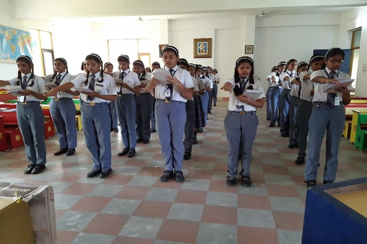 V K International School-Assembly