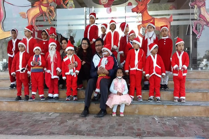V K International School-Christmas Celebration