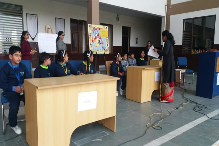 V K International School-Quiz Competition