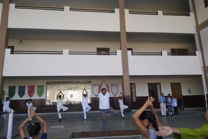 V K International School-Yoga