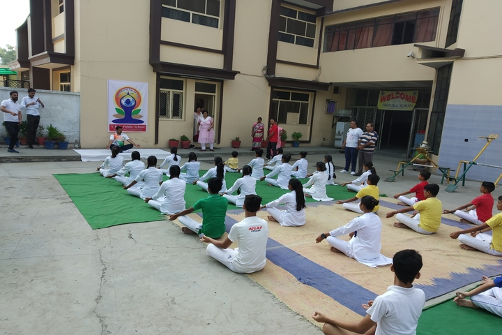 V K S Public School-Yoga