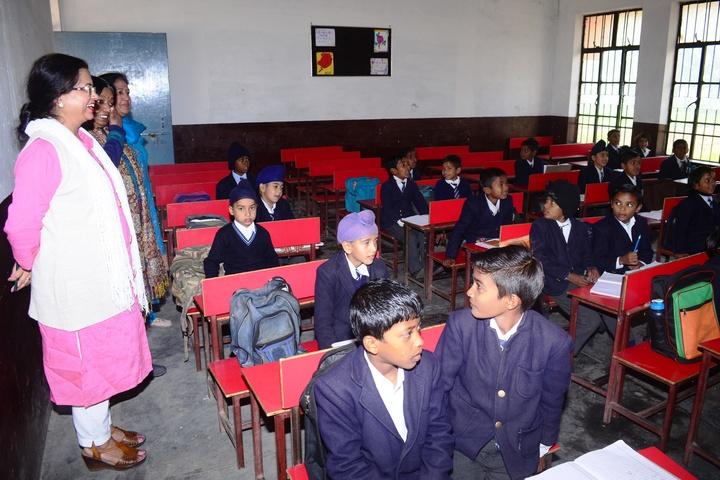 V K Public School-Class Room