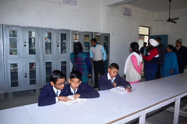 V K Public School-Library