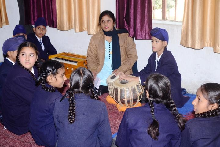 V K Public School-Music Room