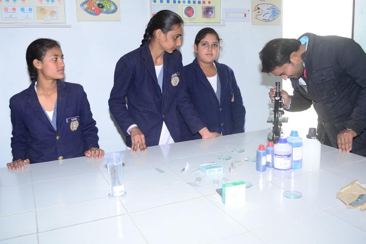 V K Public School-Biology Lab