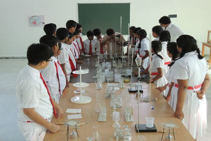 Virendra Singh Baghel Education Centre-Chemistry Lab