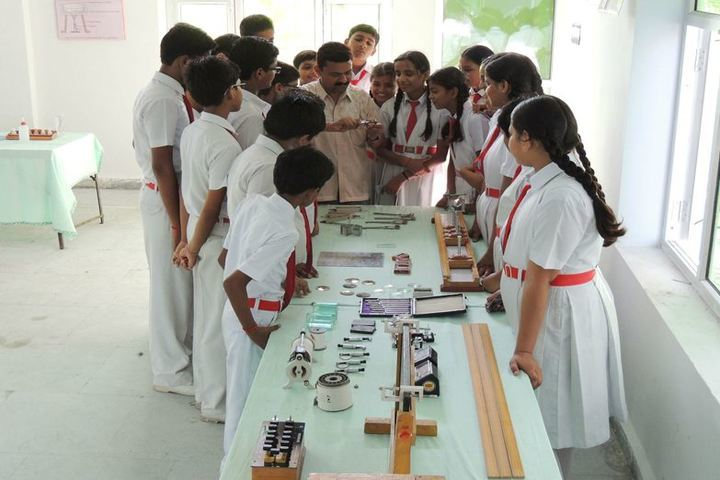 Virendra Singh Baghel Education Centre-Science Lab