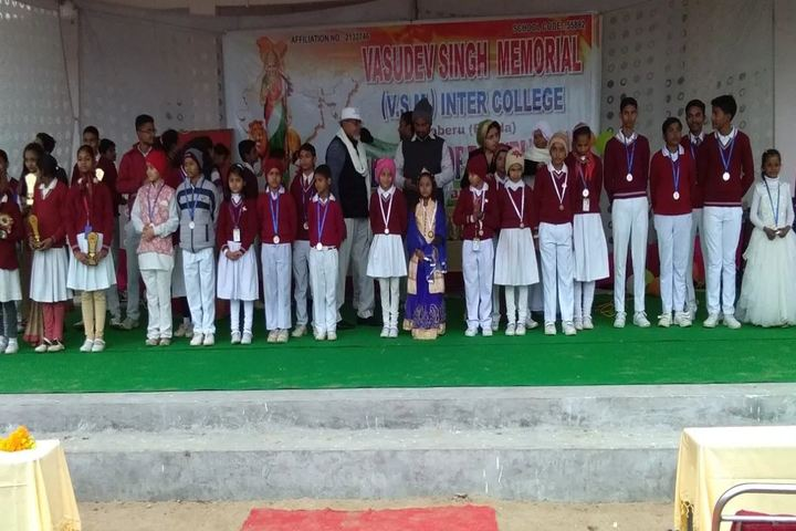 Vasudev Singh Memorial Inter College-Awards