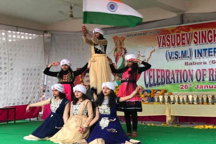 Vasudev Singh Memorial Inter College-Republic Day Celebrations