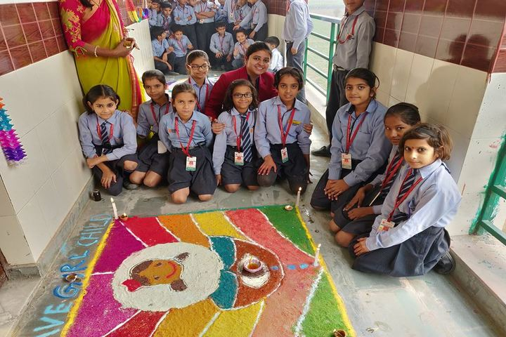 Vedantic International School-Rangoli Competition