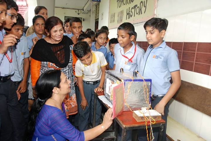 Vedantic International School-School Exhibition