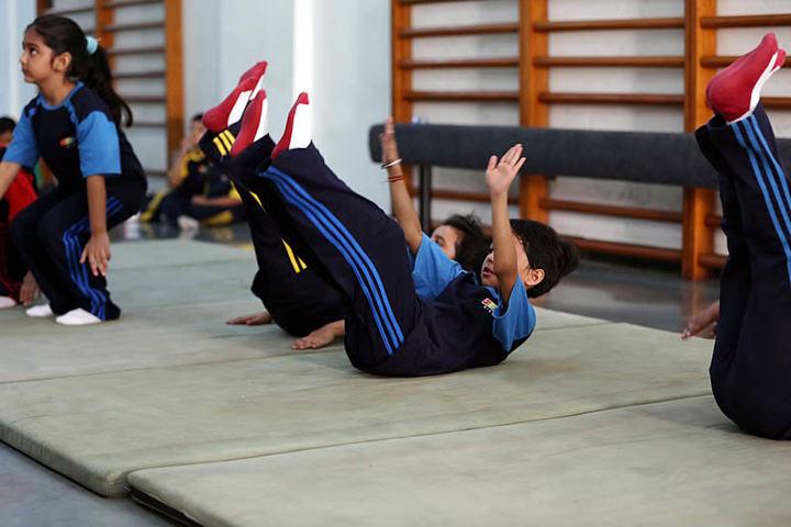 Vibgyor High School-Yoga Day