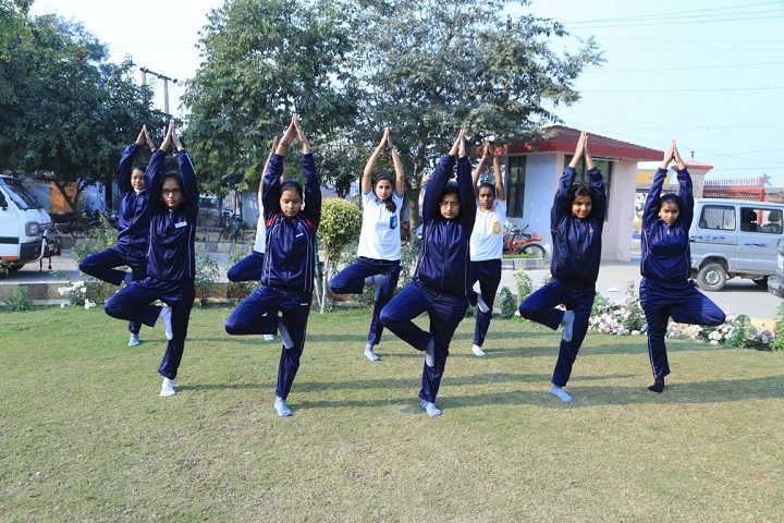 Vibgyor Intenational School-Yoga