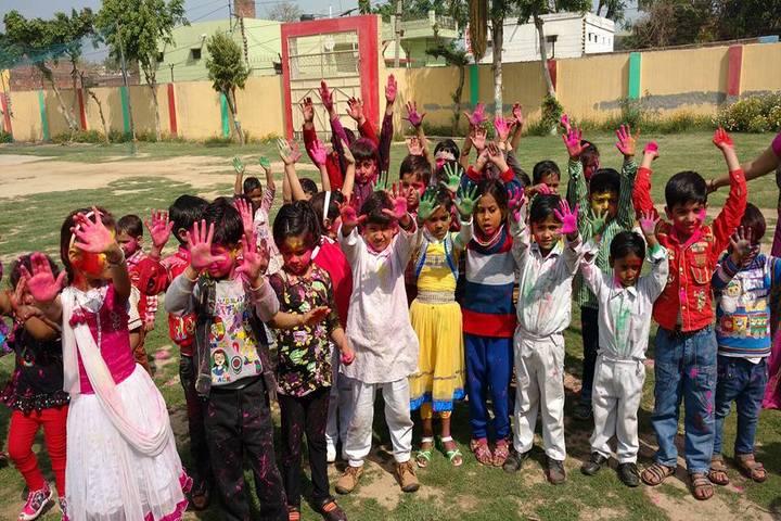 Vidya Bhawan Public School-Holi Celebrations