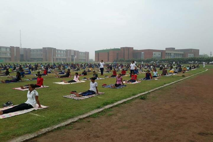 Vidya Global School-Yoga Day