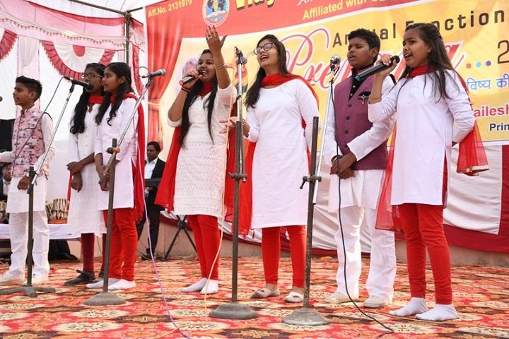 Vidya Sanskar Public School-Group Singing