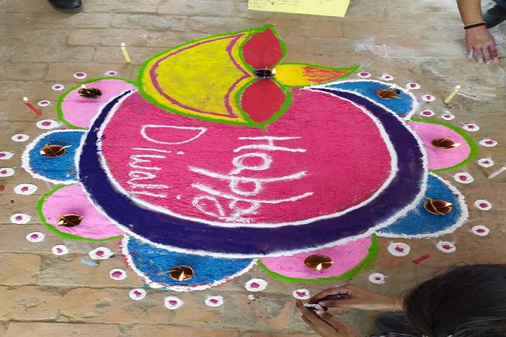 Vidyapeeth Public School-Rangoli Competition