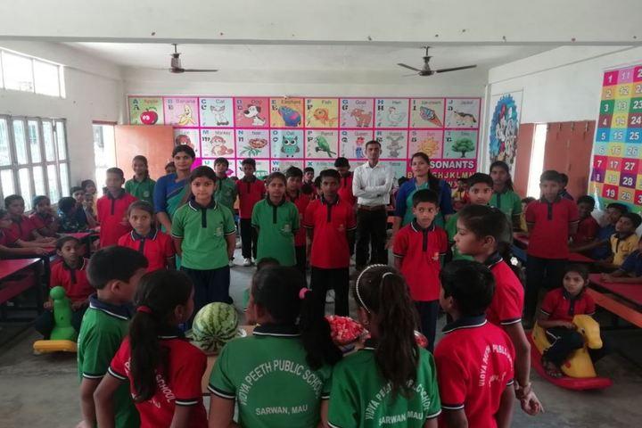 Vidyapeeth Public School-Water Mellon Day Celebrations