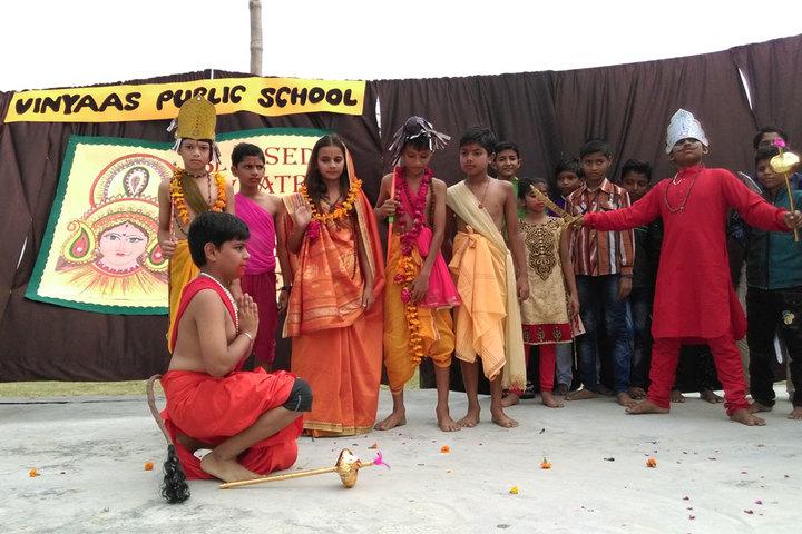 Vinyaas Public School-Festival Celebrations