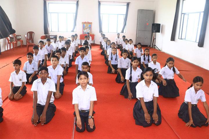 Vinyaas Public School-Yoga Day
