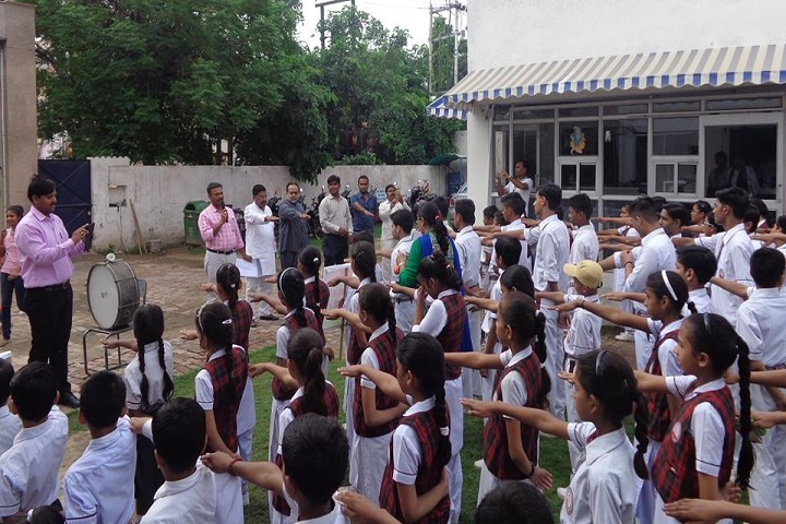 Vivekananda Shishu Mandir School-Morning Assembly