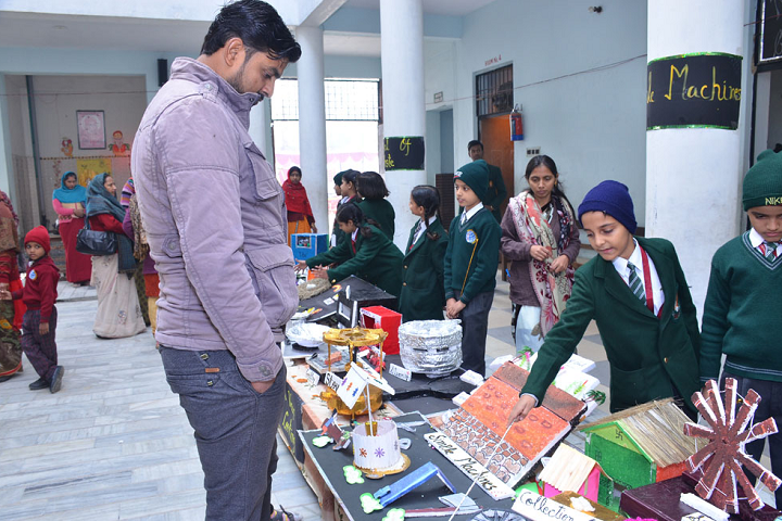 Welfare Mission International School-Science Exhibition