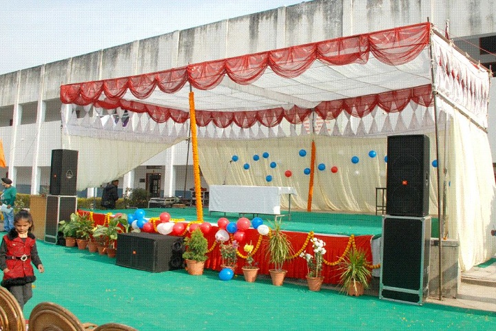 Guru Nanak Khalsa Senior Secondary School-Stage Decoration